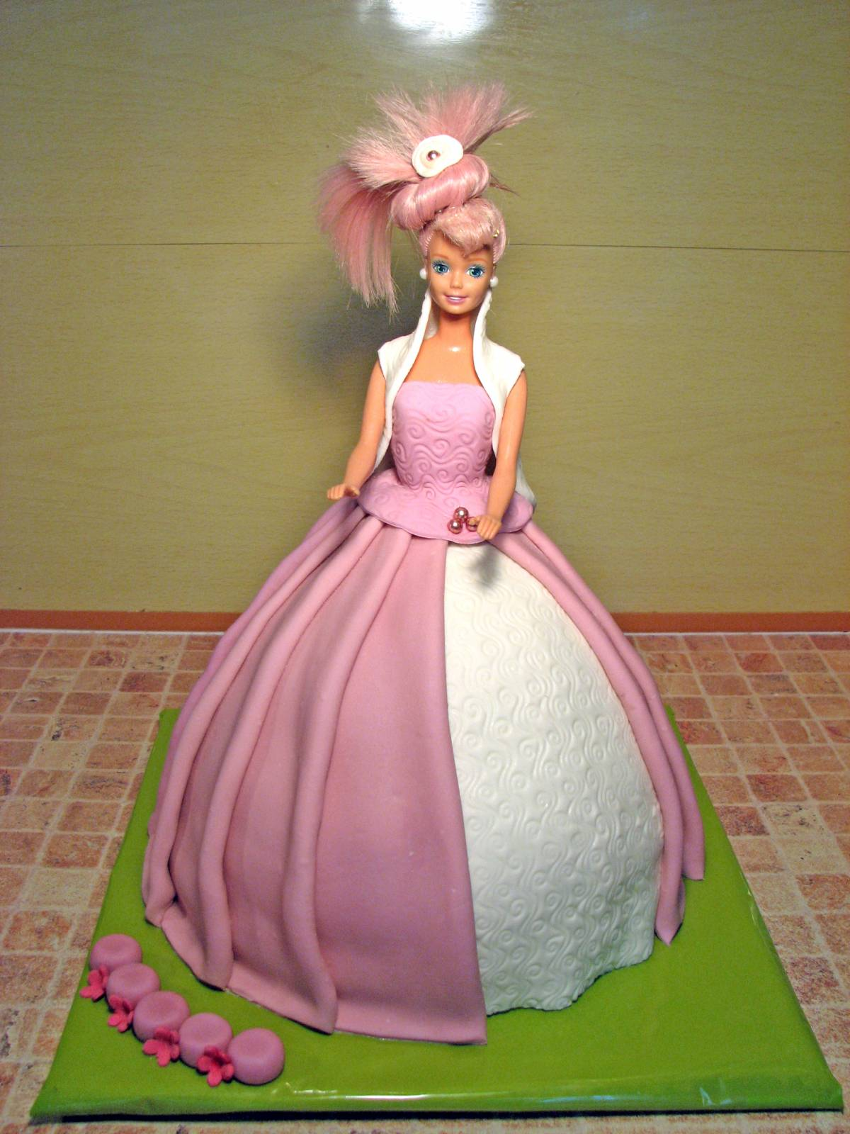Торт с барби пошаговое фото